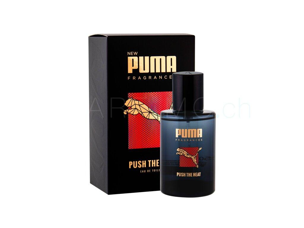 2019 am besten verkaufen Auschecken Turnschuhe 2018 Puma Push The Heat Eau de Toilette - Parfimo.ch