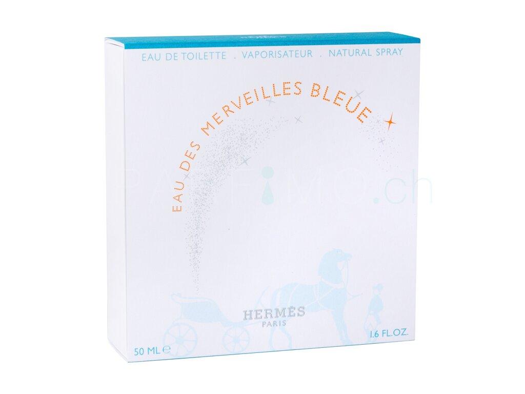 Hermes Eau Des Merveilles Bleue De Toilette Woman Edt 100 Ml 50